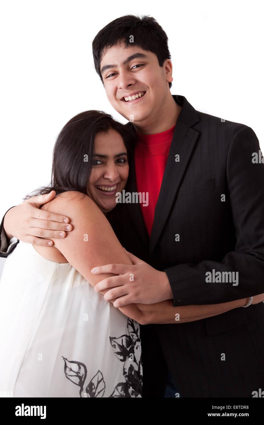 Indian woman dating white man