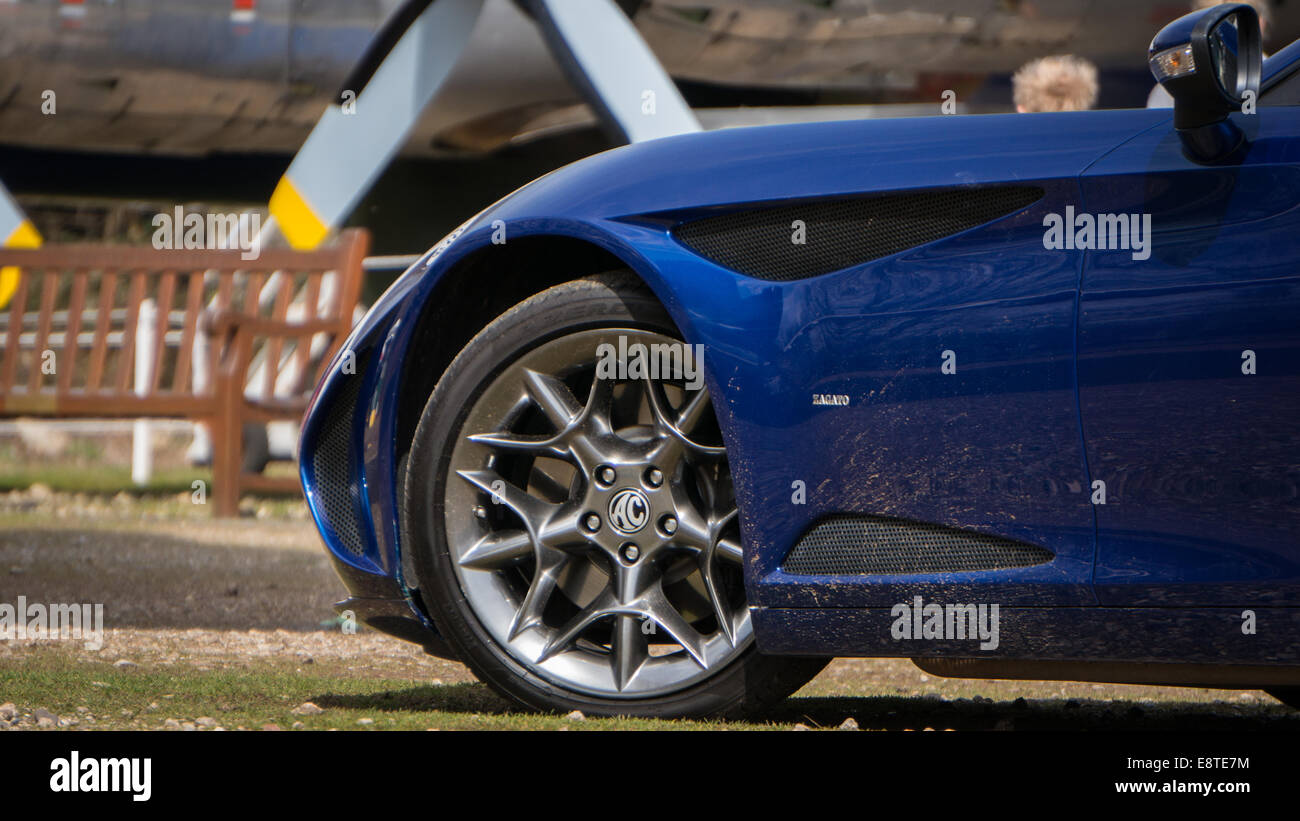 AC Zagato Wheel - Stock Image
