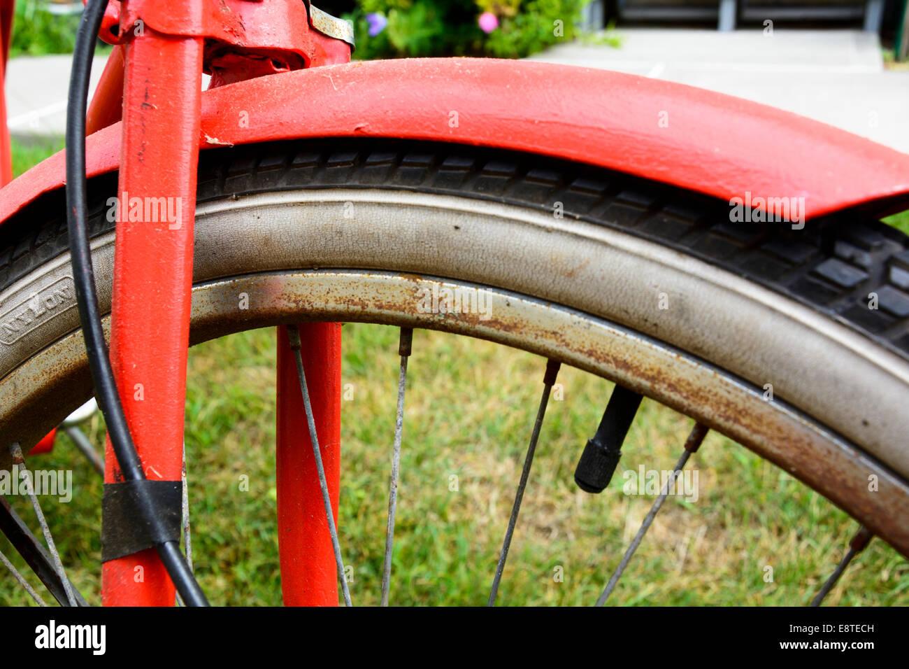 Single Speed Bicycle Wheel Stock Photos & Single Speed