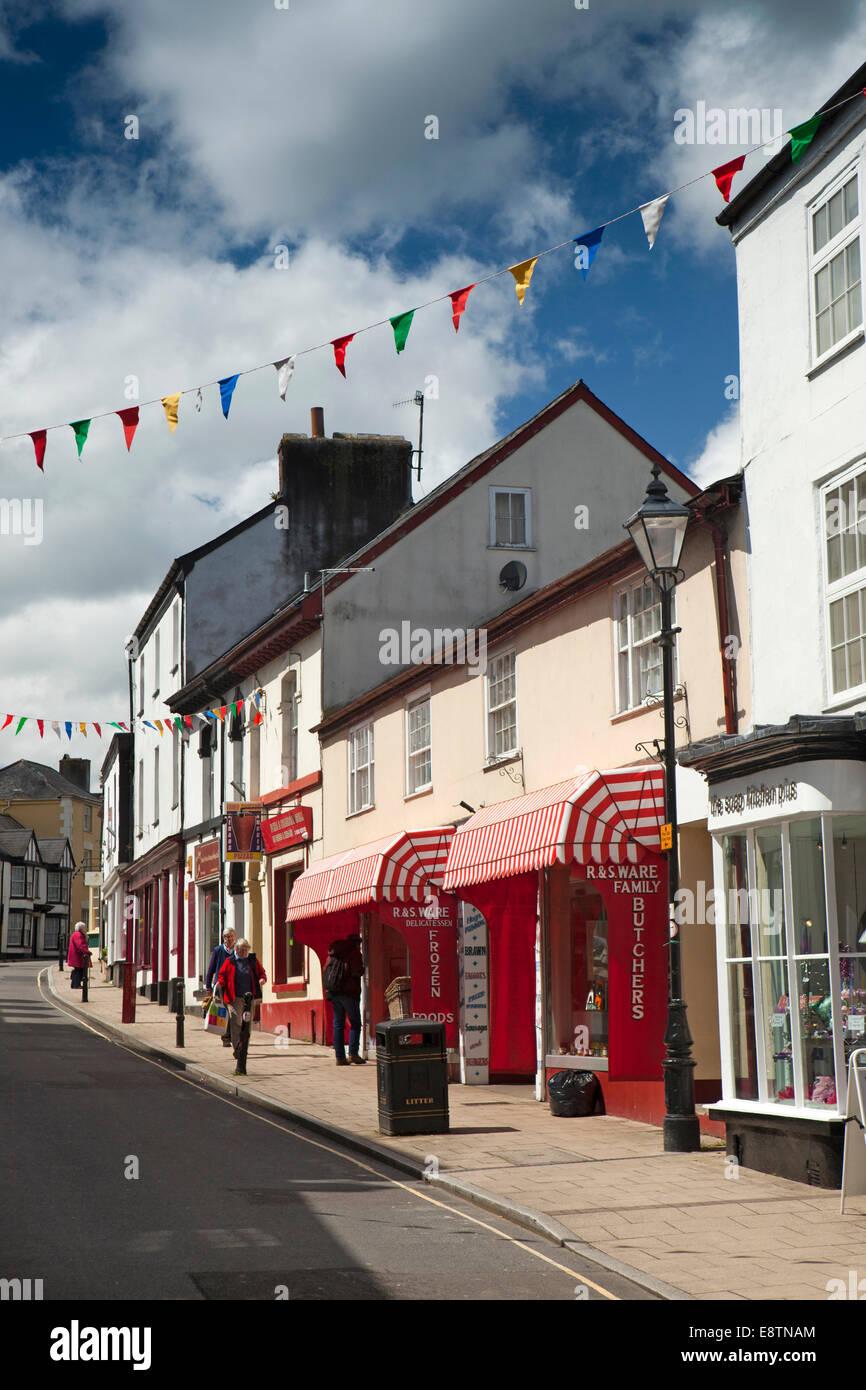 UK, England, Devon, Great Torrington, South Street Stock Photo