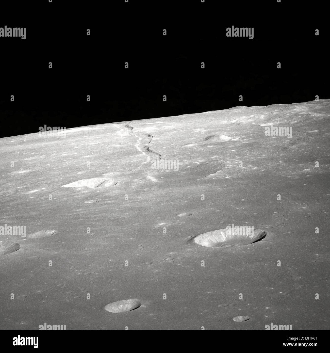 Apollo 10 untouched photographic archive, this is the complete unedited collection from the Apollo Mission - Stock Image