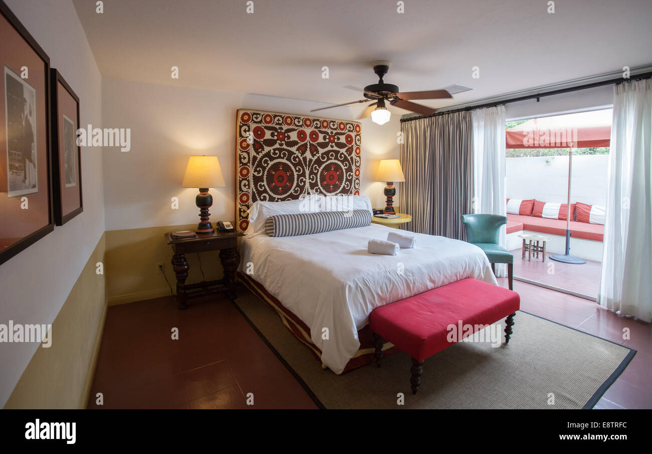 The Colony Palms Hotel In Palm Springs - Stock Image