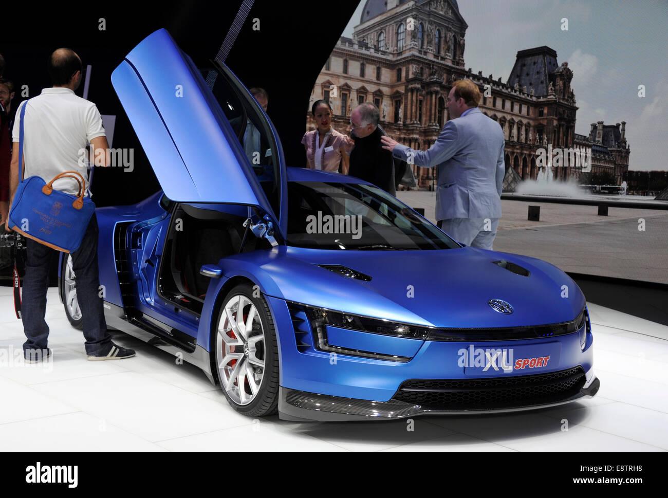 Volkswagen Xl Sport Concept Car High Tech Ducati Motor Paris Motor
