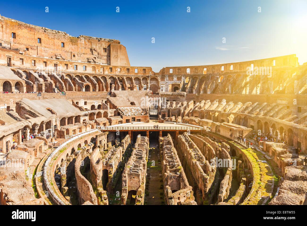 Coliseum in Rome - Stock Image