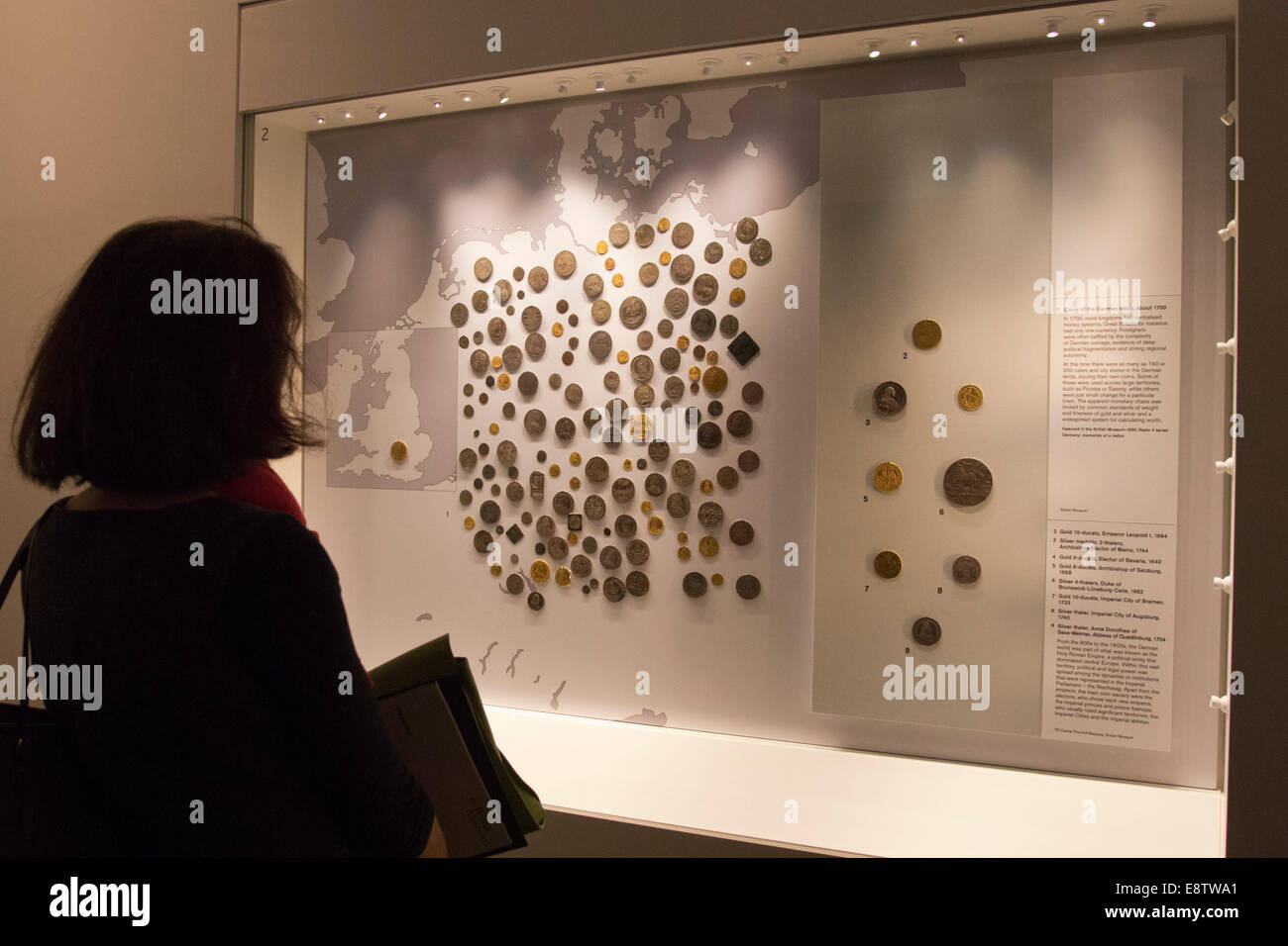 The exhibition 'Germany - Memories of a Nation' opens at the British Museum, London. - Stock Image