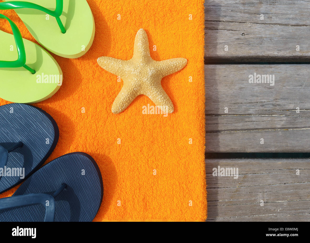 94cd47255 Beach Slippers Stock Photos   Beach Slippers Stock Images - Alamy