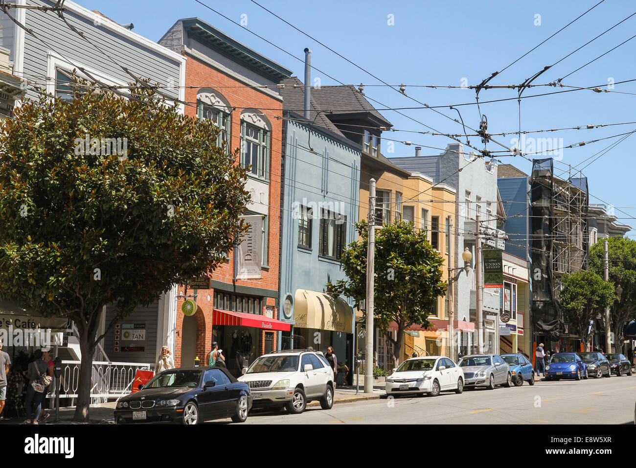 Cow Hollow High Resolution Stock Photography And Images Alamy