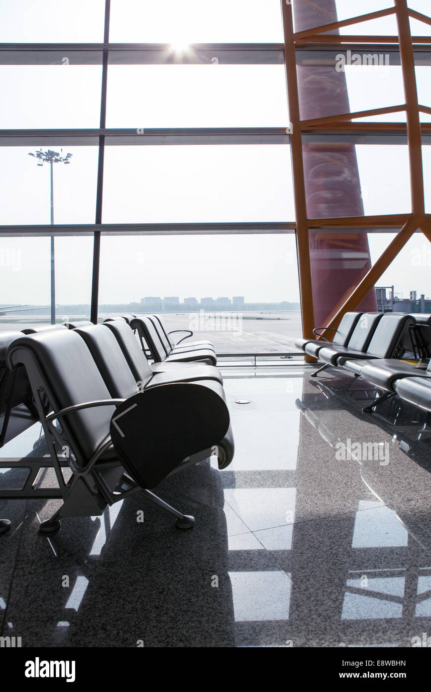 Airports in the seat - Stock Image