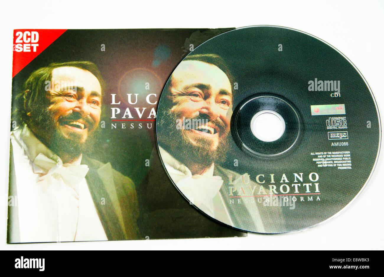 compact disc. - Stock Image