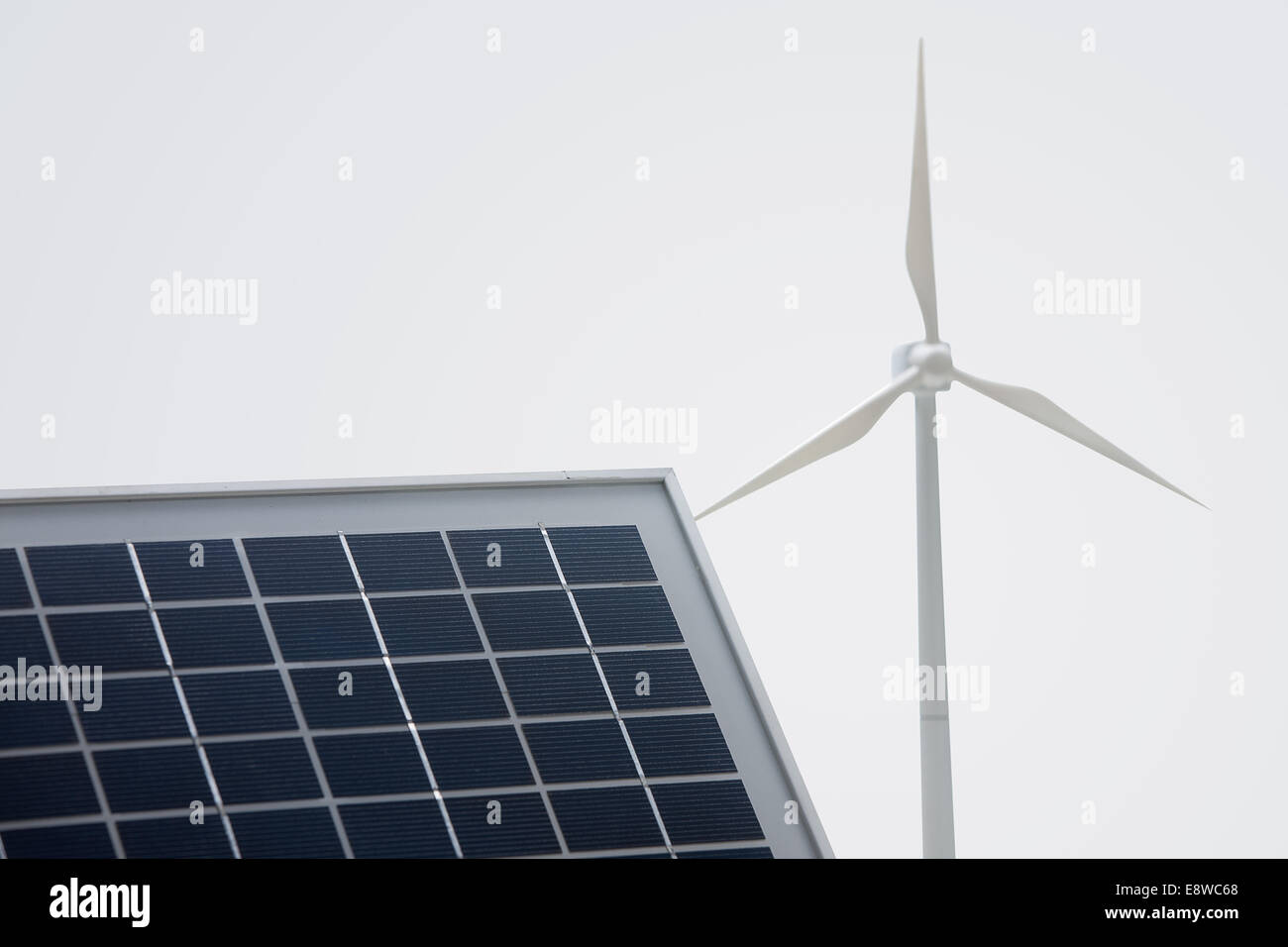 Energy saving light bulb solar panels Stock Photo: 74317104 - Alamy