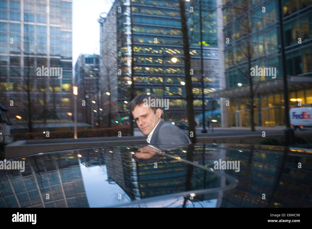 FILE PIX: London, UK. 15th Jan, 2009. Helge Lund resigns, Canary Wharf, London, UK This morning Statoil President Stock Photo