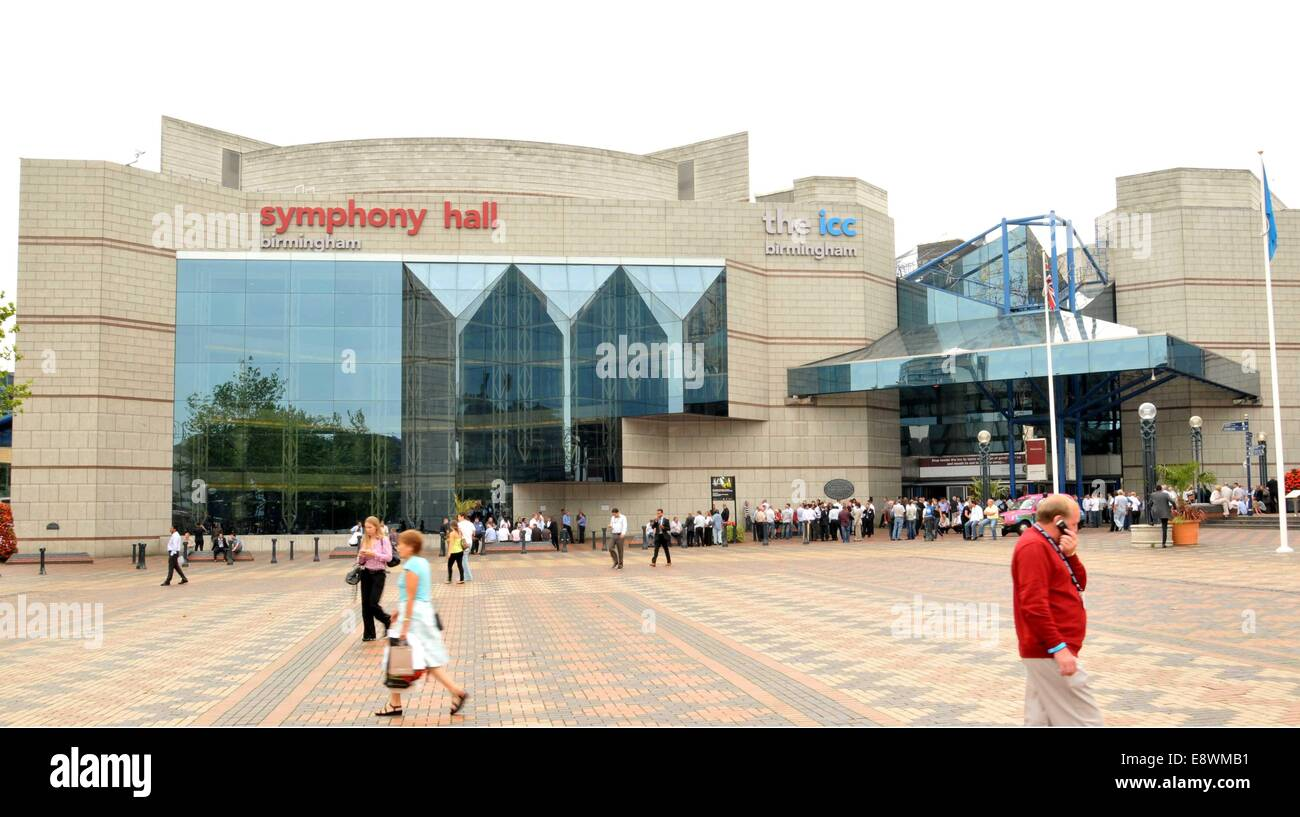 ICC (International Convention Centre) in Birmingham. - Stock Image