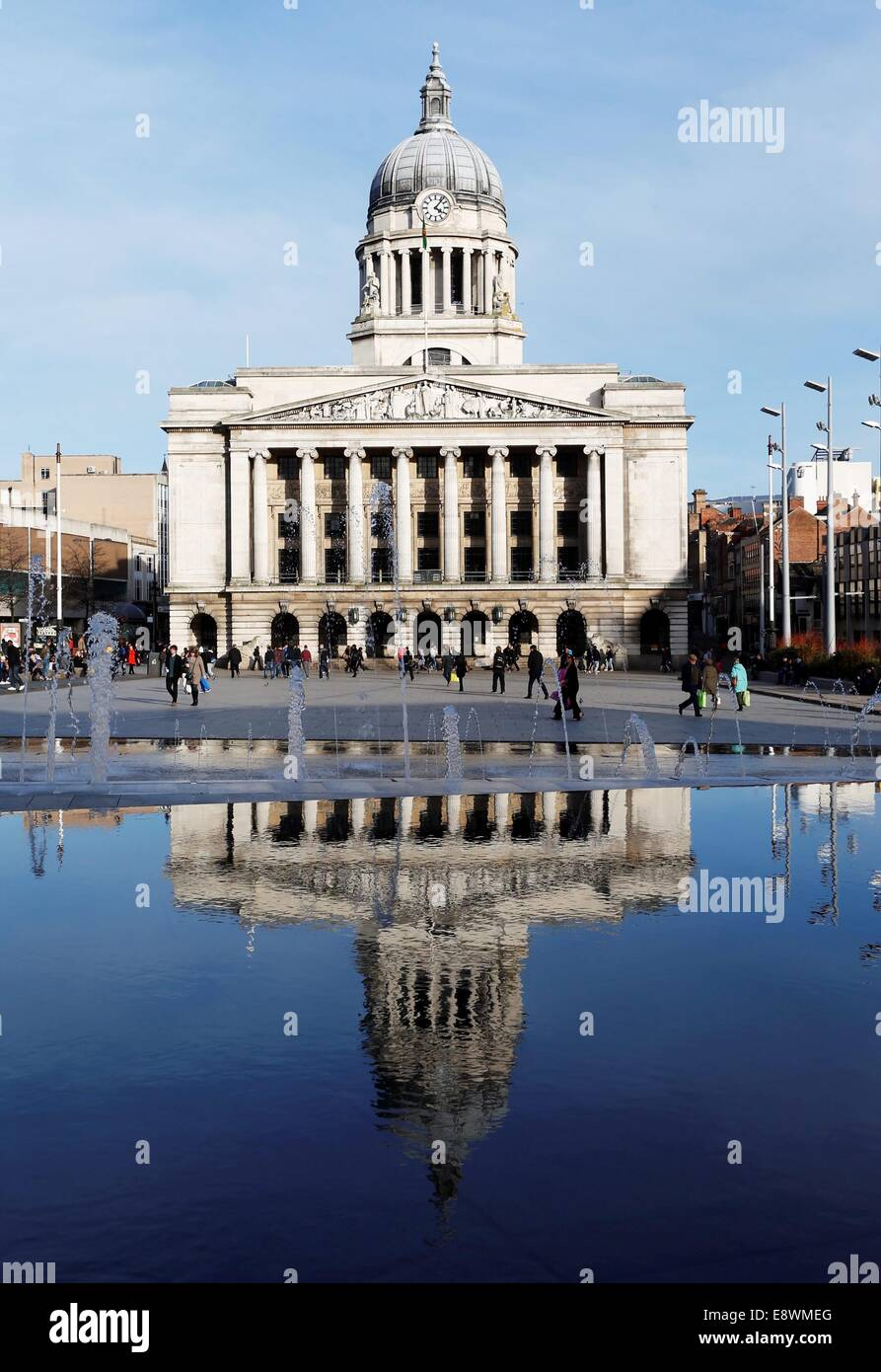 Nottingham Council House. - Stock Image