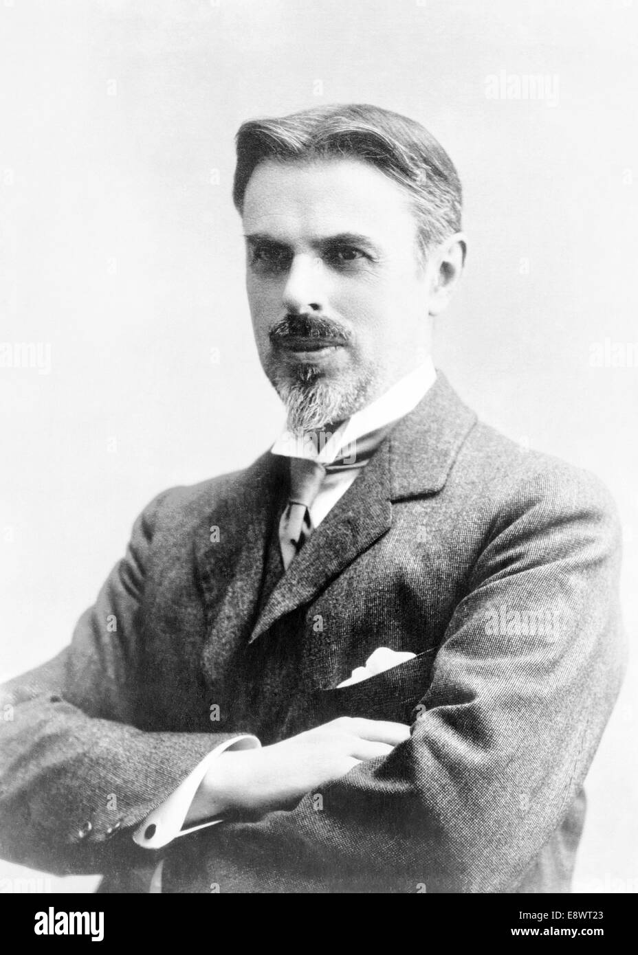 Photograph of Laurence Housman (1865-1959) English playwright, poet, author and illustrator. Taken in 1915 aged - Stock Image