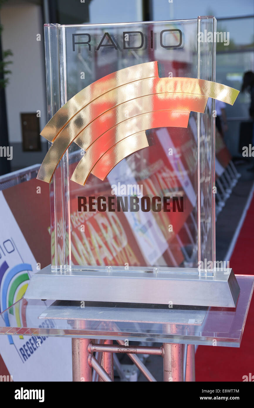 Radio Regenbogen Award 2014 at Europa-Park. - Arrivals  Featuring: Award Where: Rust, Germany When: 12 Apr 2014 - Stock Image