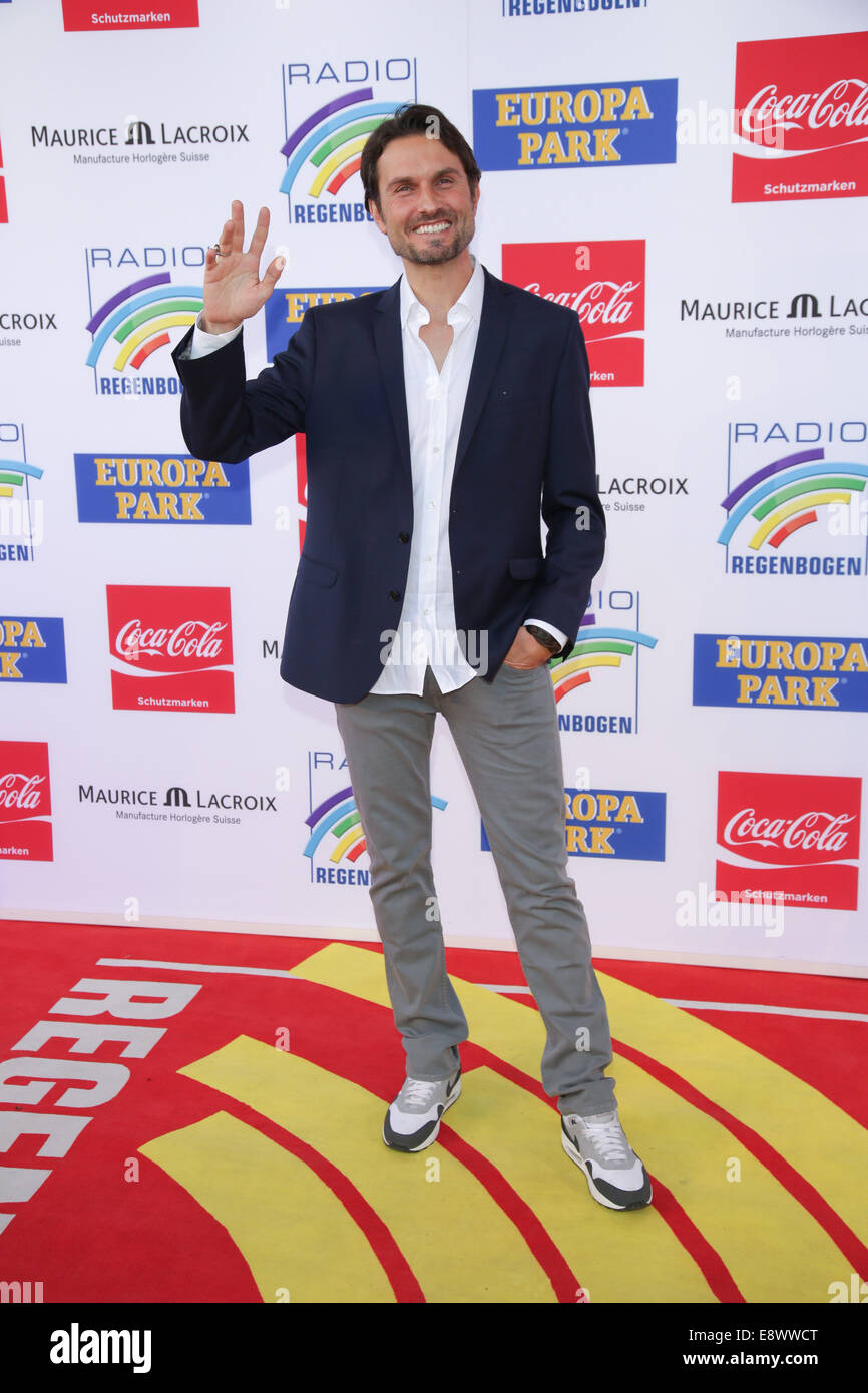 Radio Regenbogen Award 2014 at Europa-Park. - Arrivals  Featuring: Simon Verhoeven Where: Rust, Germany When: 12 - Stock Image