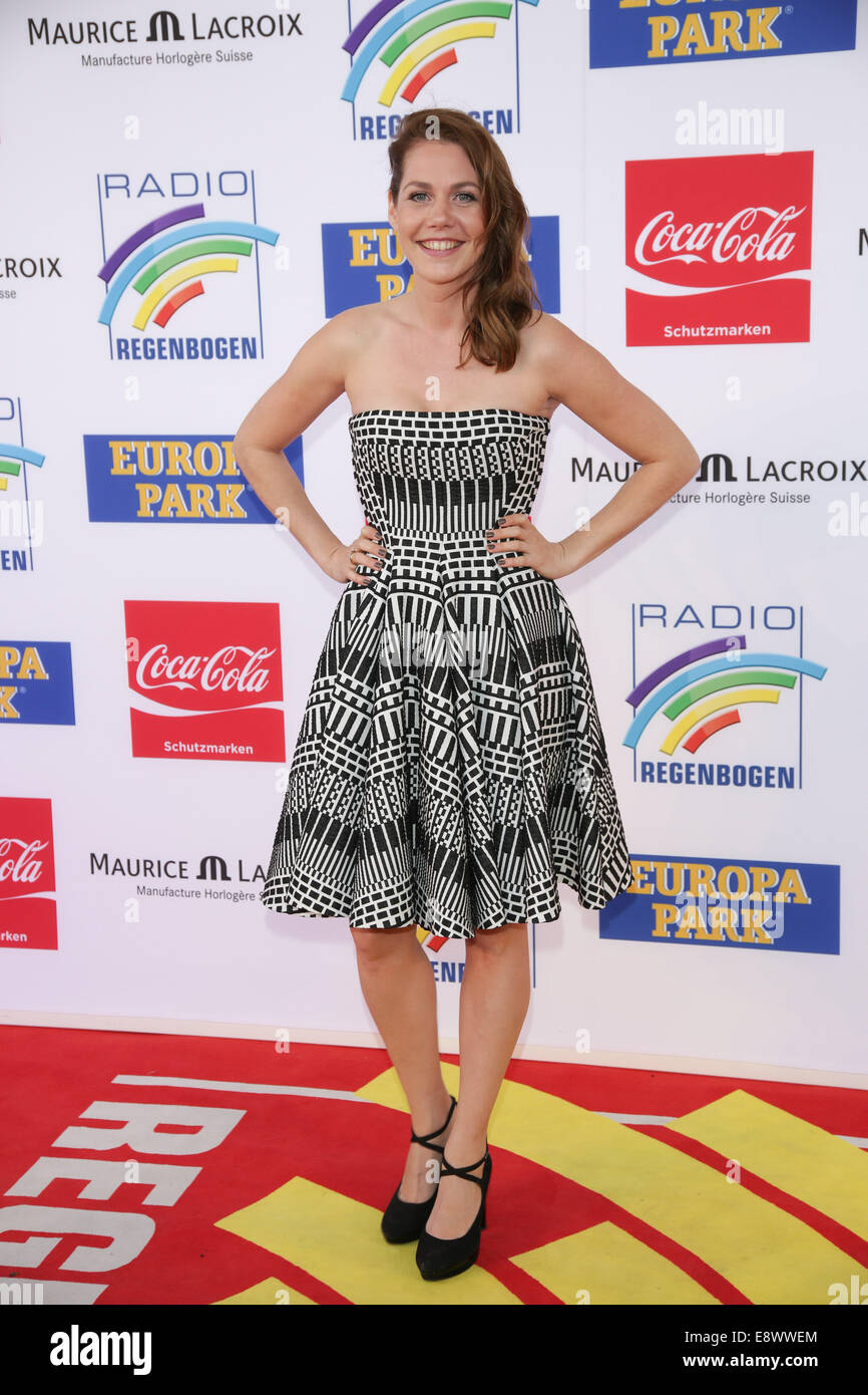 Radio Regenbogen Award 2014 at Europa-Park. - Arrivals  Featuring: Felicitas Woll Where: Rust, Germany When: 12 - Stock Image