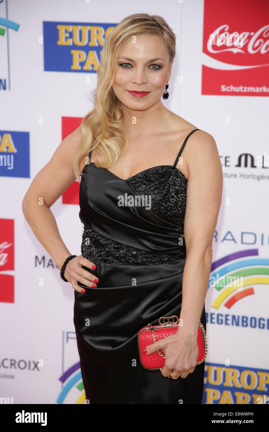 Radio Regenbogen Award 2014 at Europa-Park. - Arrivals  Featuring: Regina Halmich Where: Rust, Germany When: 12 - Stock Image