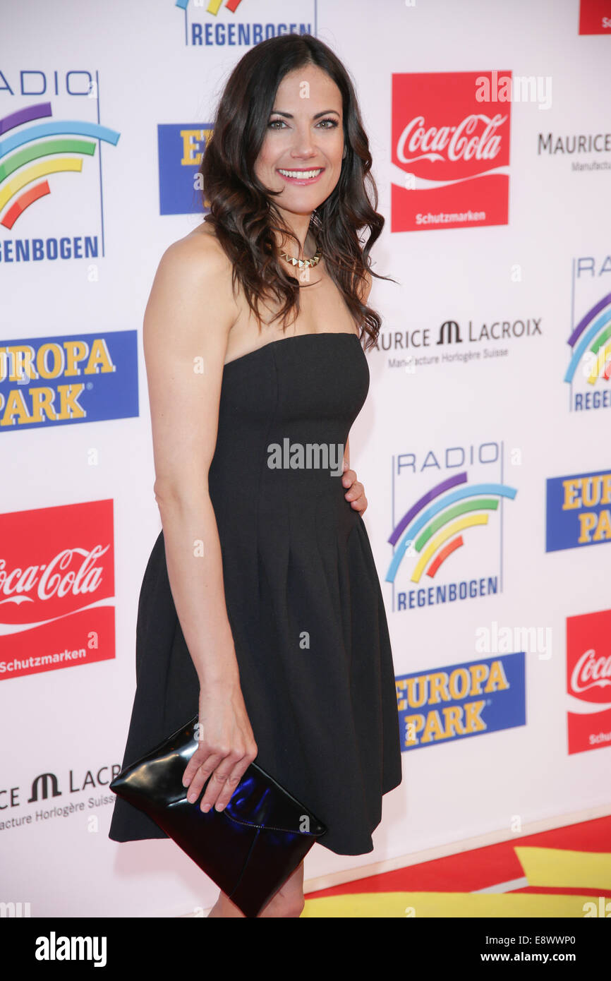Radio Regenbogen Award 2014 at Europa-Park. - Arrivals  Featuring: Bettina Zimmermann Where: Rust, Germany When: - Stock Image