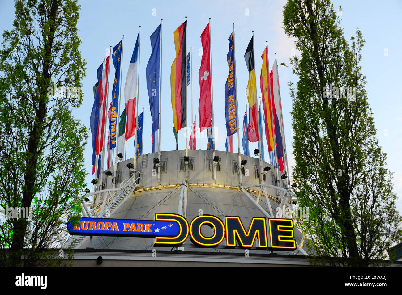 Radio Regenbogen Award 2014 at Europa-Park. - Arrivals  Featuring: Location Where: Rust, Germany When: 12 Apr 2014 - Stock Image