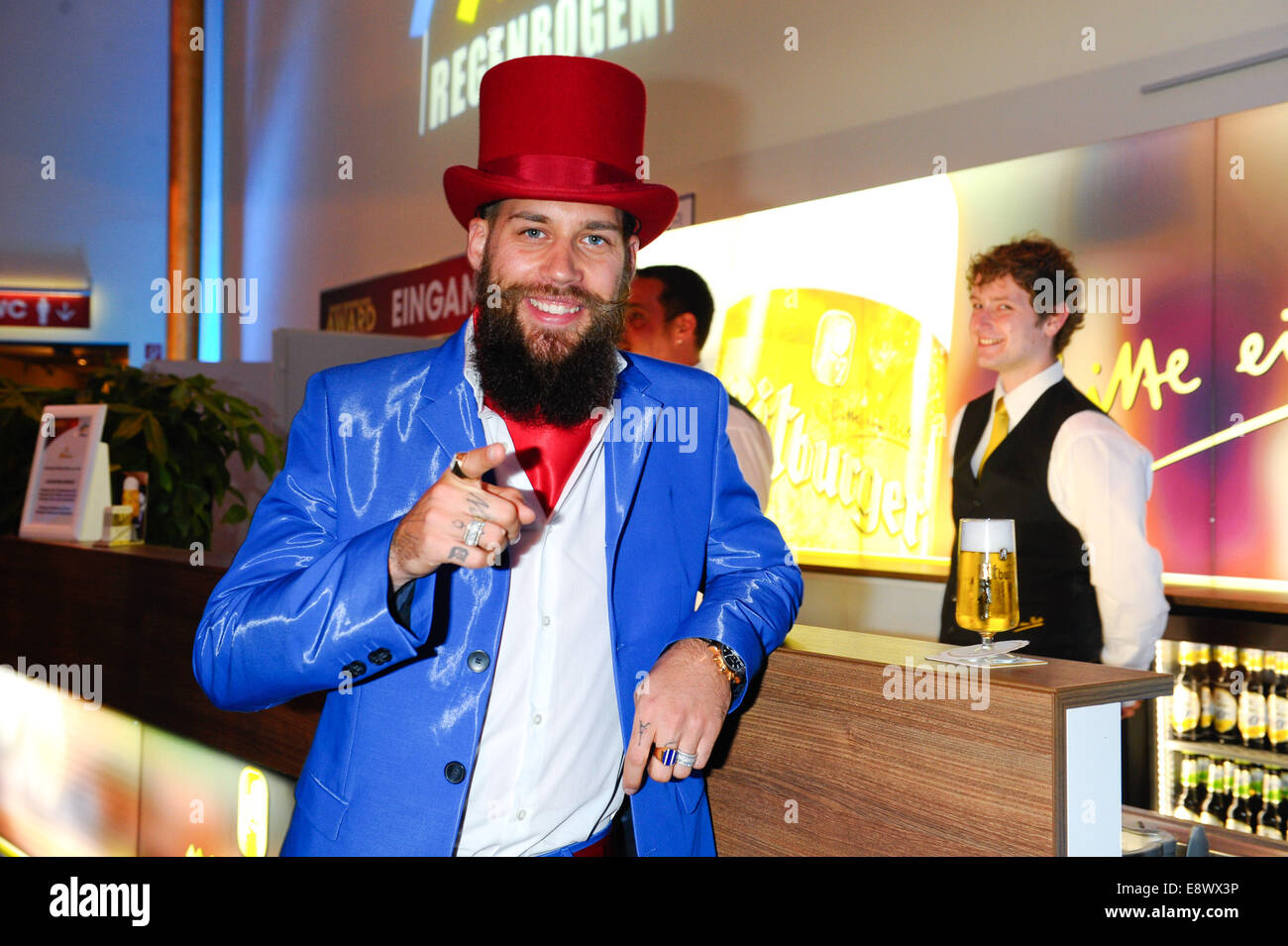 Radio Regenbogen Award 2014 at Europa-Park. - Arrivals  Featuring: Dino Sadino Where: Rust, Germany When: 12 Apr - Stock Image