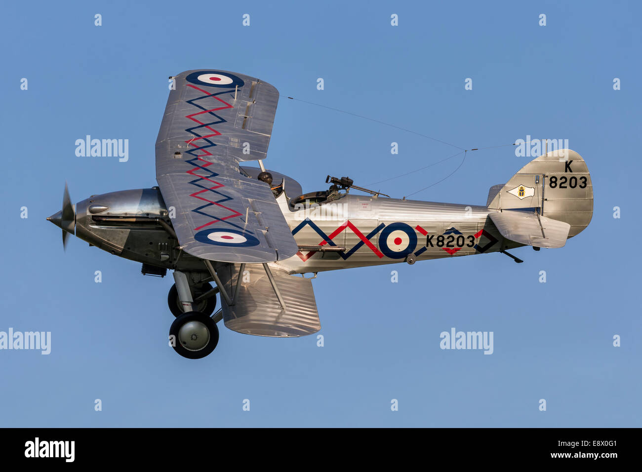 Hawker Demon - classic pre-war fighter - Stock Image