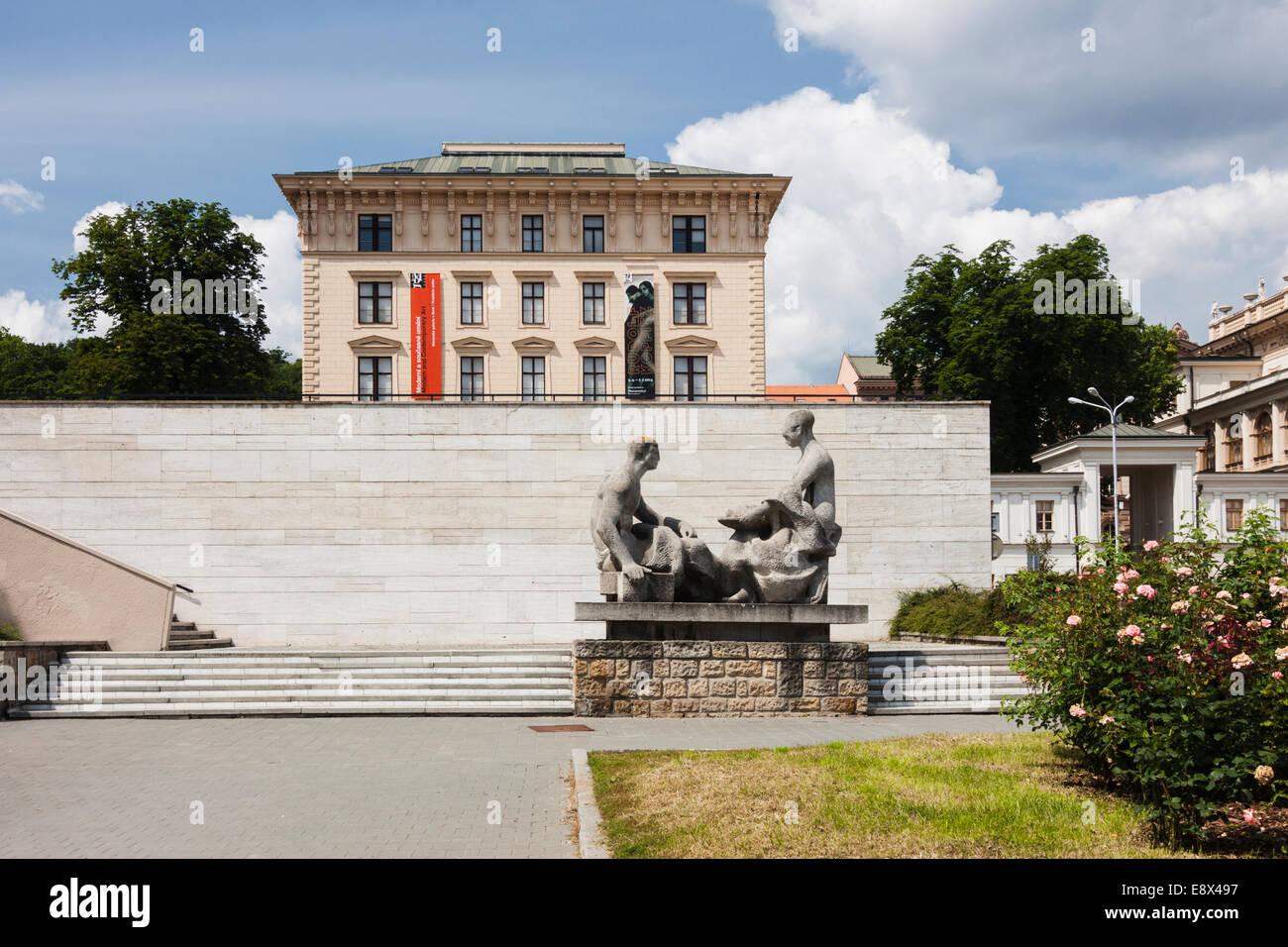 Moravian Gallery. Brno, Czech Republic - Stock Image