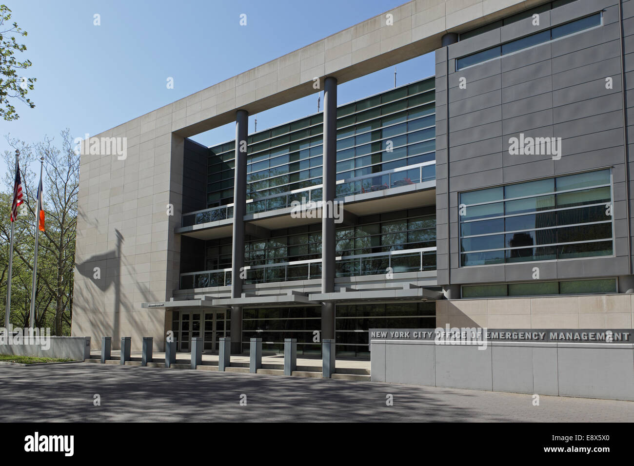 Mayor's Office of Emergency Management building in Brooklyn Heights, New York City - Stock Image