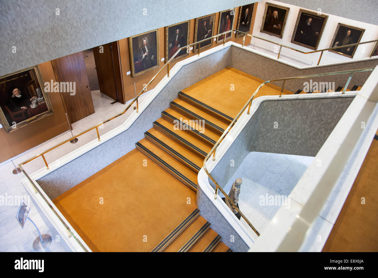 Interior of the Royal College of Physicians - London, England - Stock Image