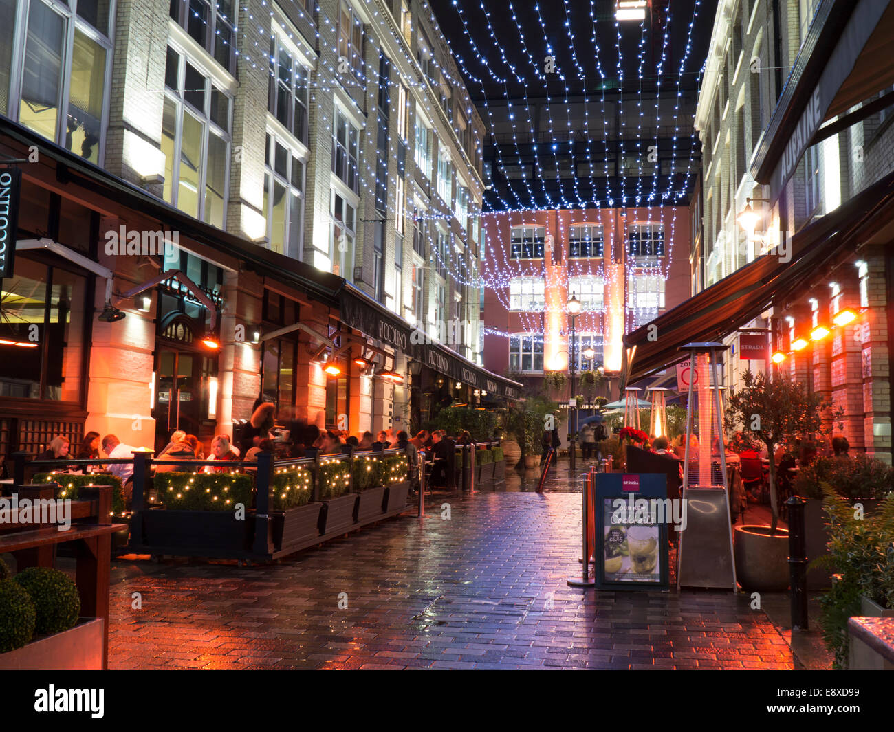 UK, England, London, Regent Street Heddon Street   Stock Image