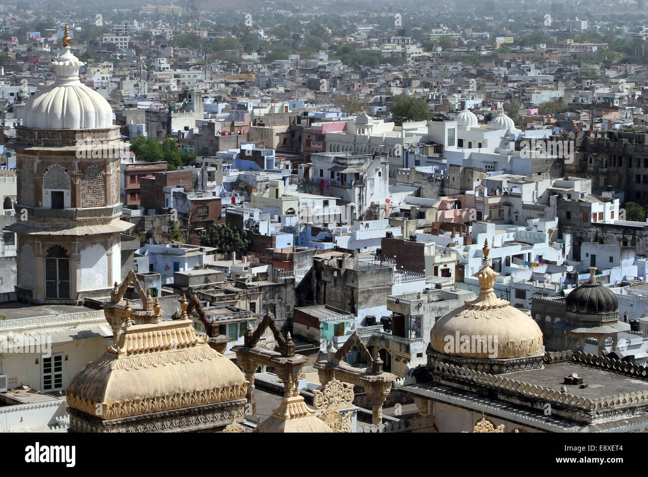 View over Udaipur, India - Stock Image
