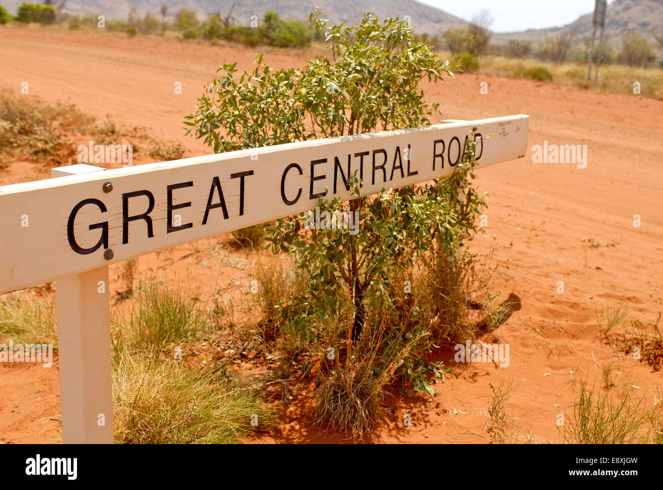 Streetsign  Great Central Road - Stock Image