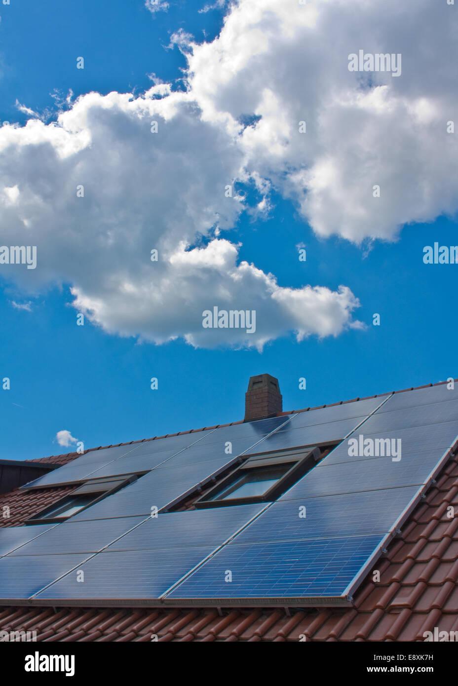 solar-power - Stock Image