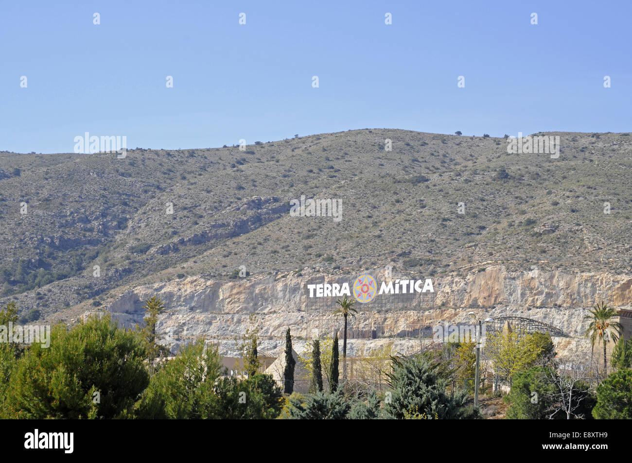 Terra Mitica - Stock Image