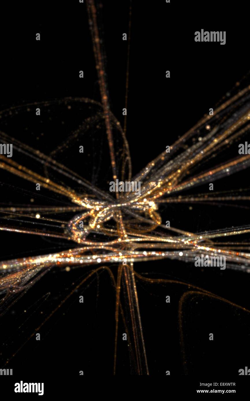 abstract lights - Stock Image