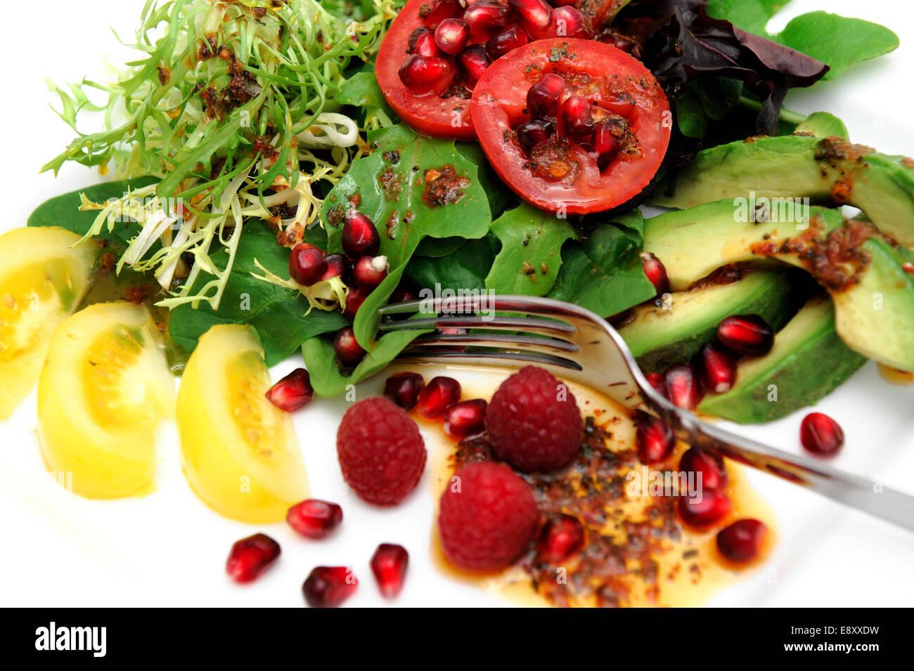 Exotic Salad - Stock Image