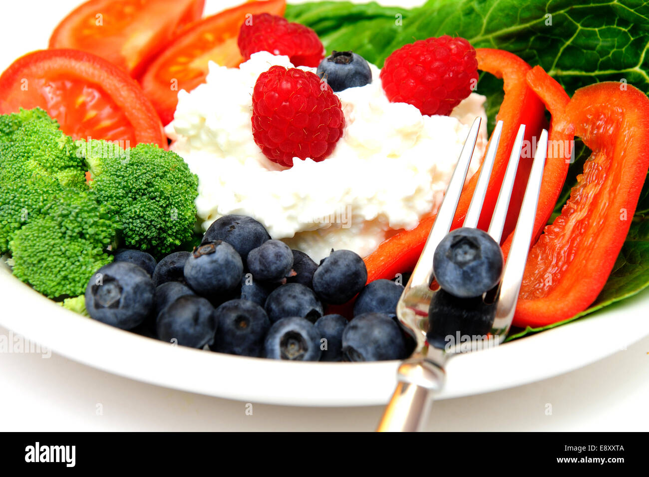Fruit Salad - Stock Image