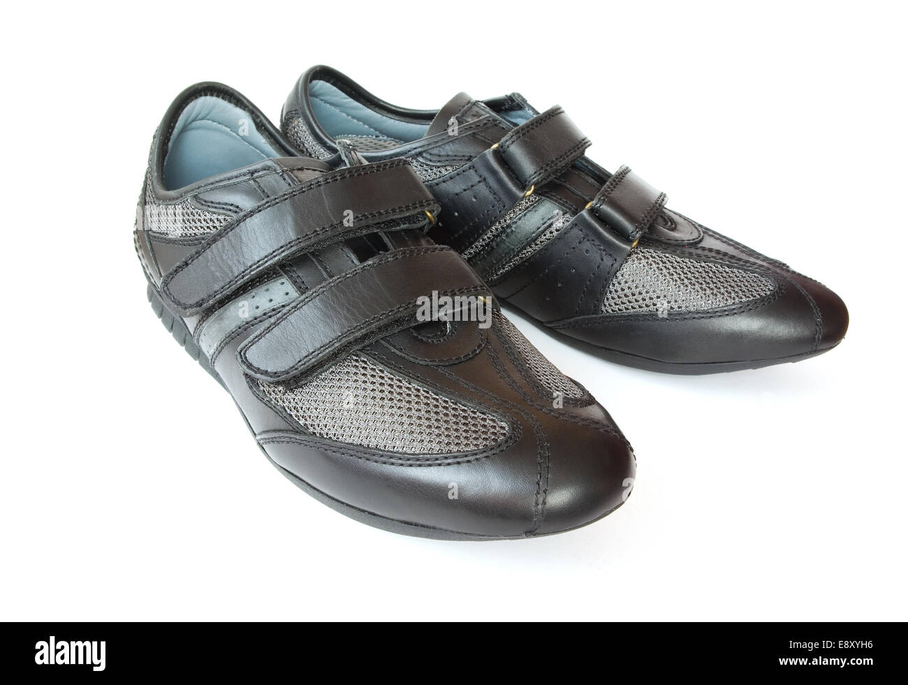 black sport shoes - Stock Image