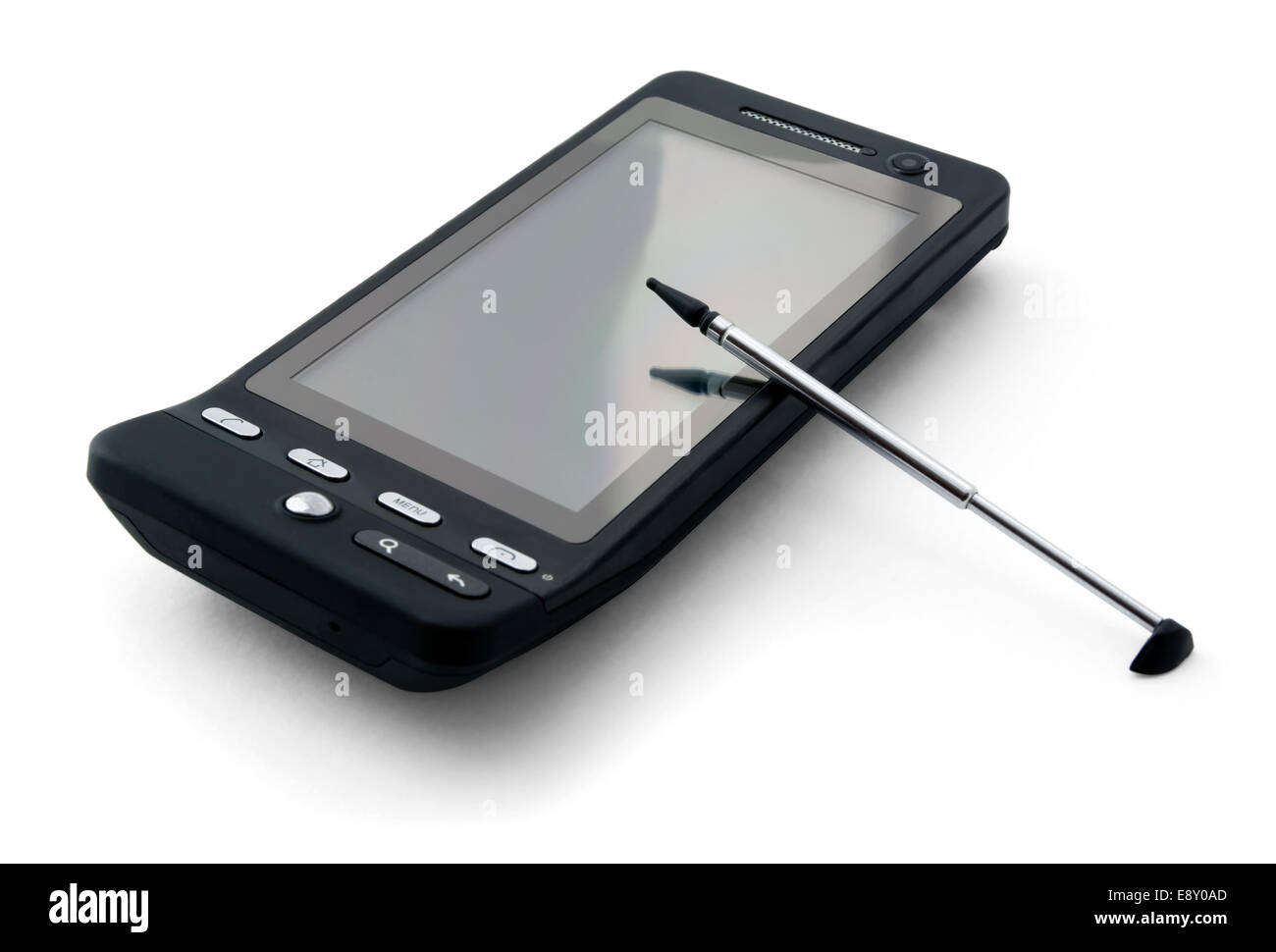 PDA and stylus - Stock Image
