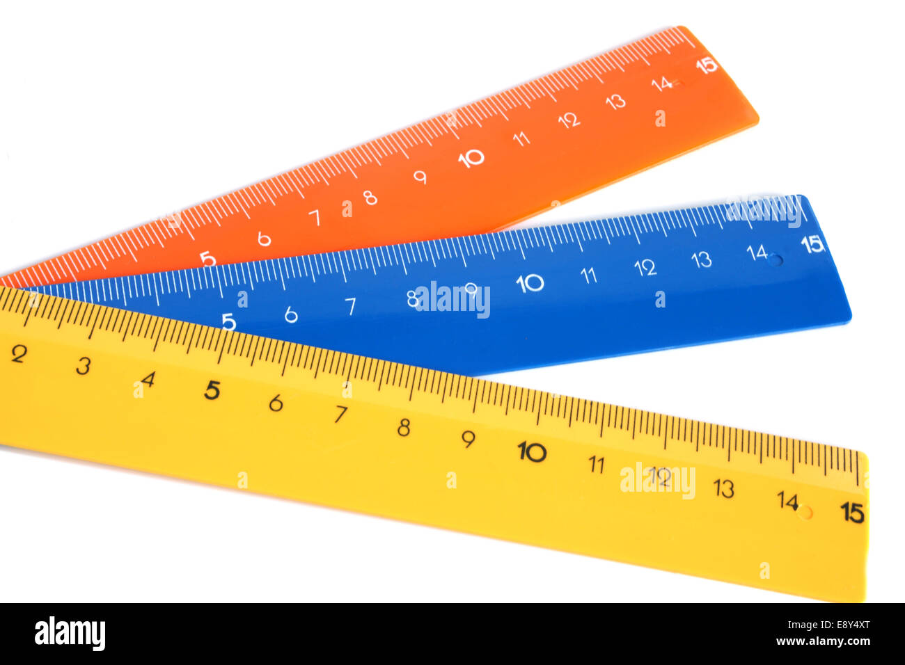 Rulers - Stock Image
