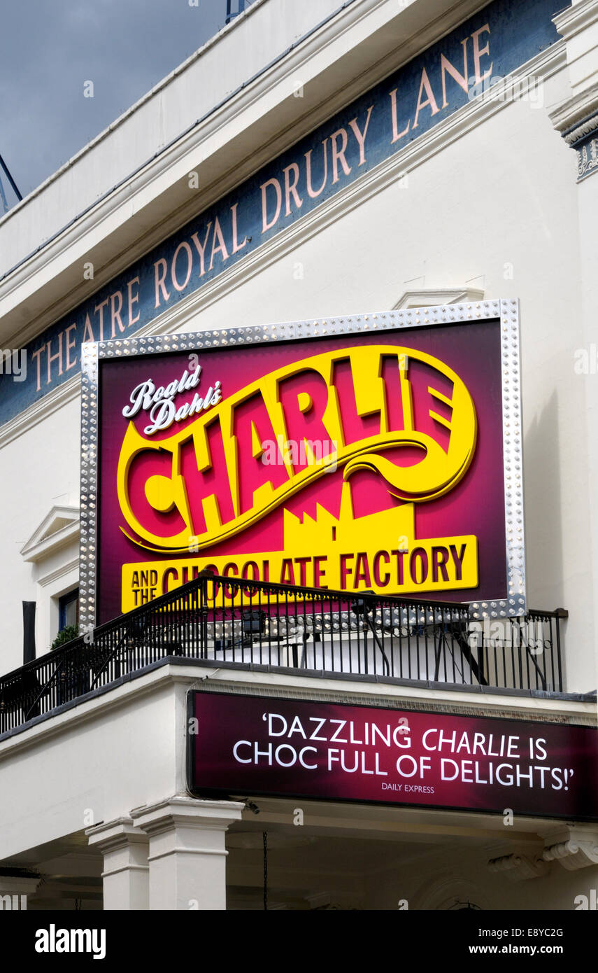 London, England, UK. Charlie and the Chocolate Factory at the Theatre Royal, Drury Lane. - Stock Image