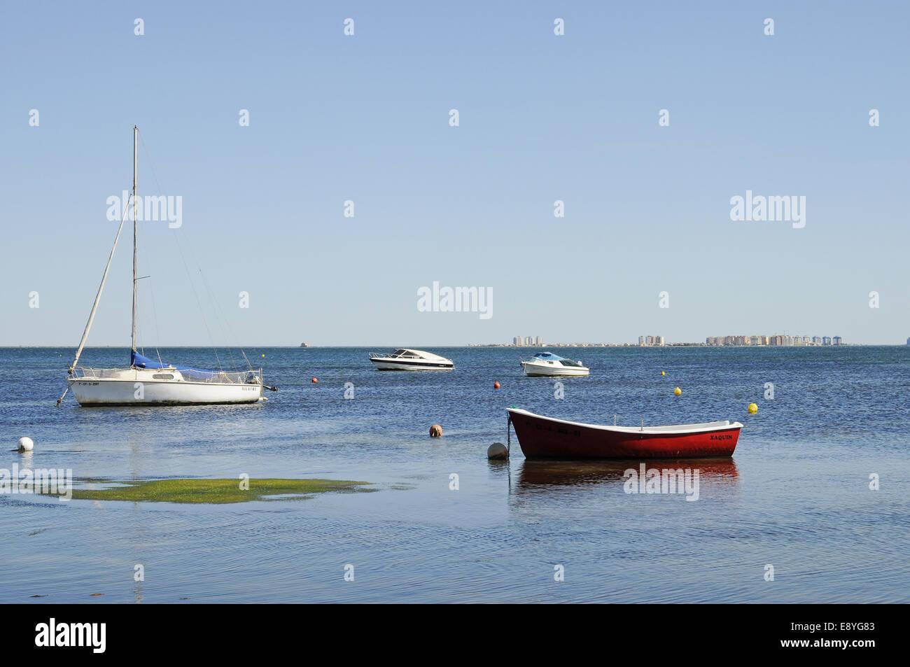 Lagune - Stock Image