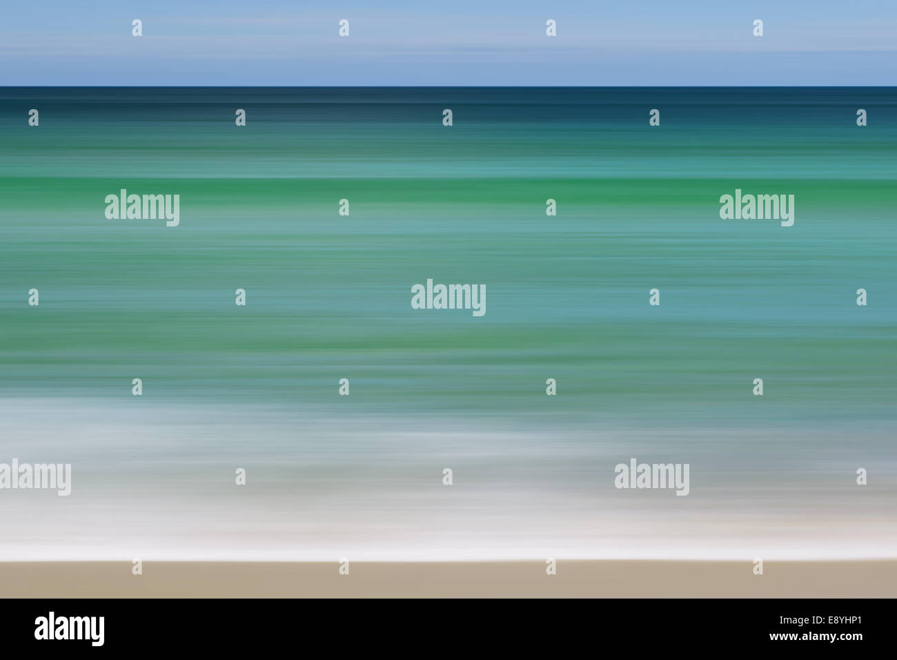 abstract seascape - Stock Image