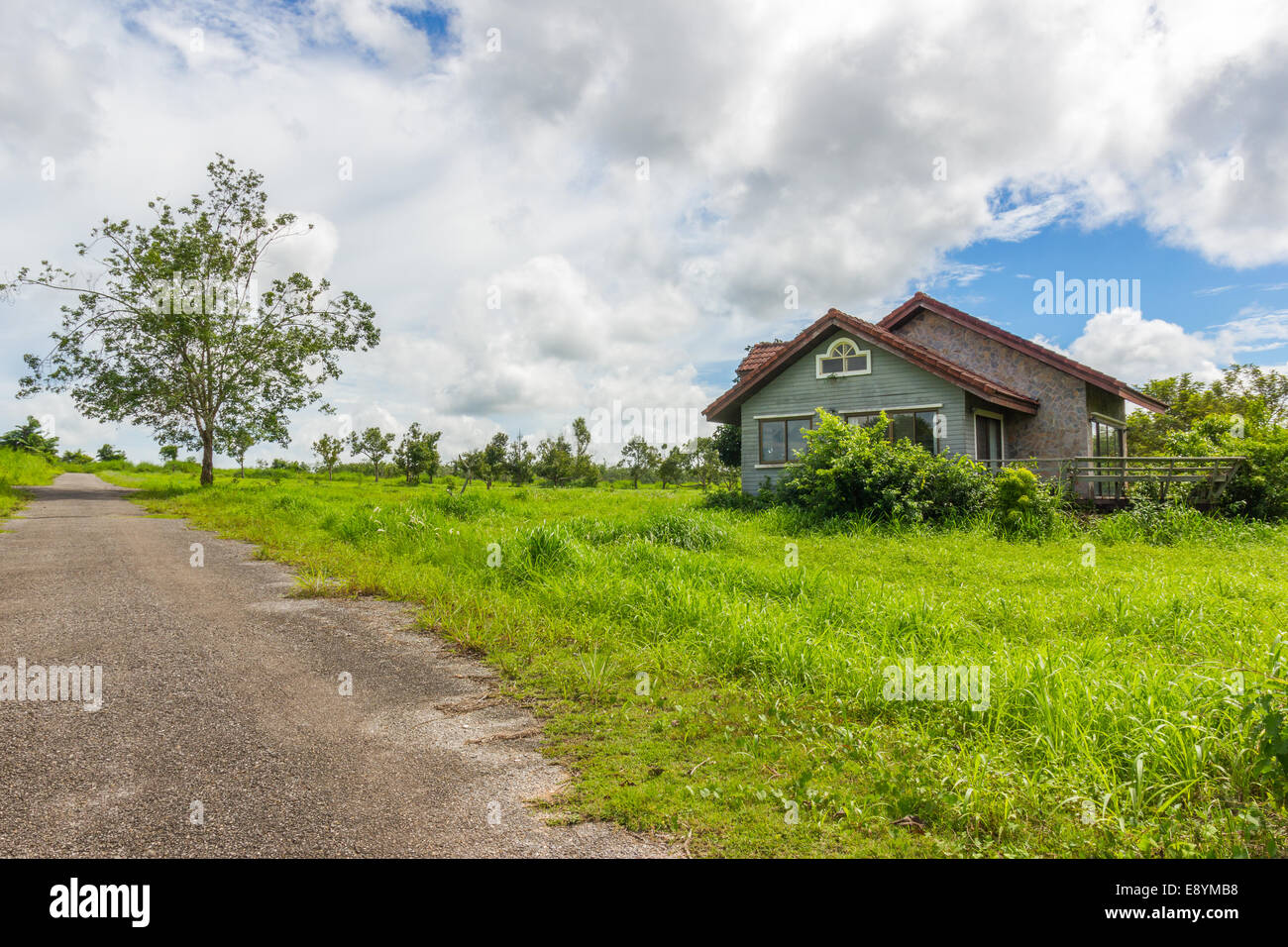 the abandon house - Stock Image