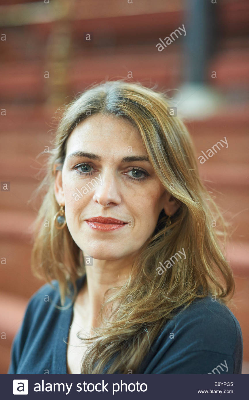 Clare Mulley Biographer of Christine Glanville  The Spy Who Loved Me at The Sheldonian Theatre at The Oxford  Literary - Stock Image
