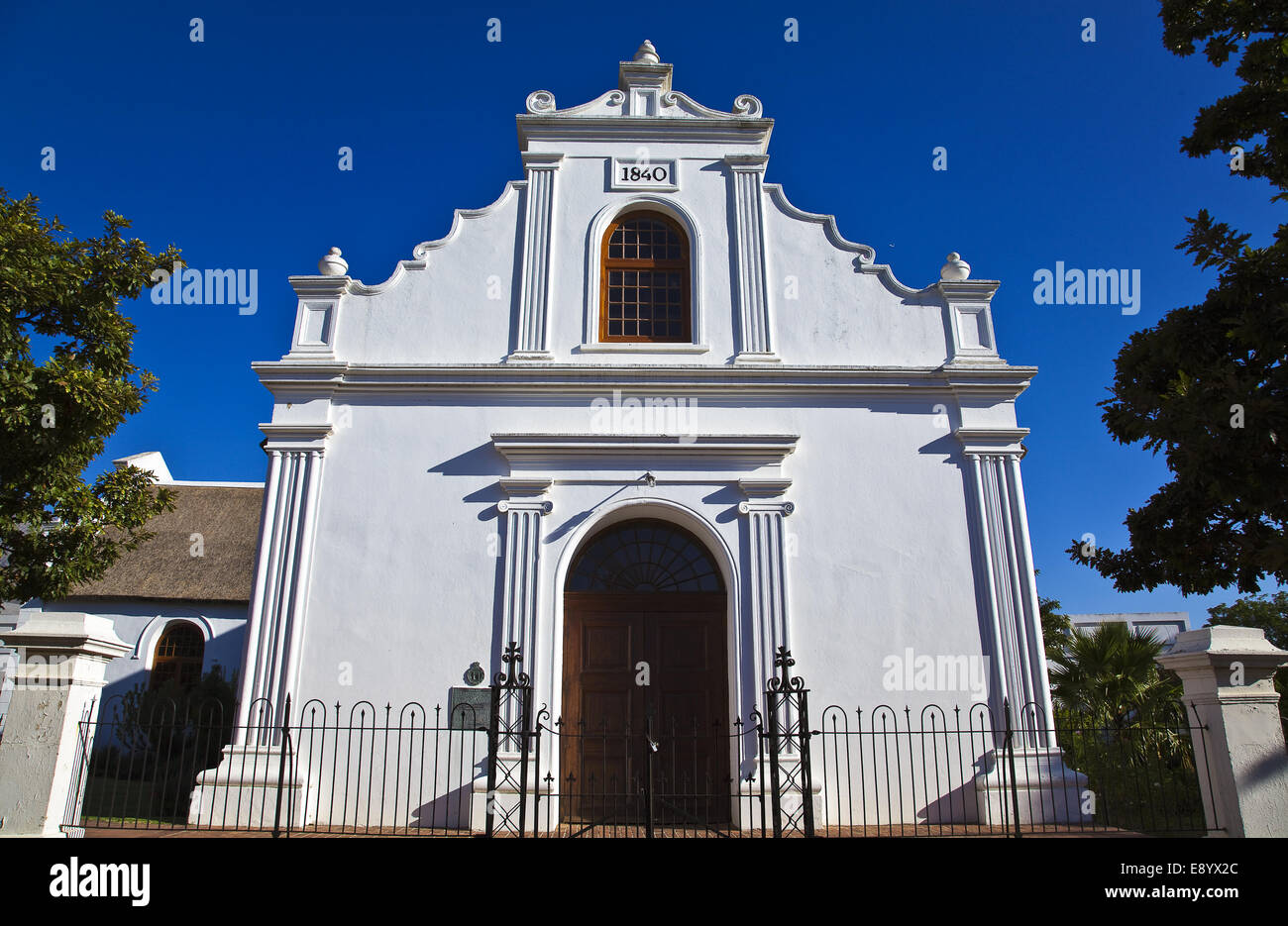 South Africa, Cape town, Stellenbosh, the Rhenish church - Stock Image