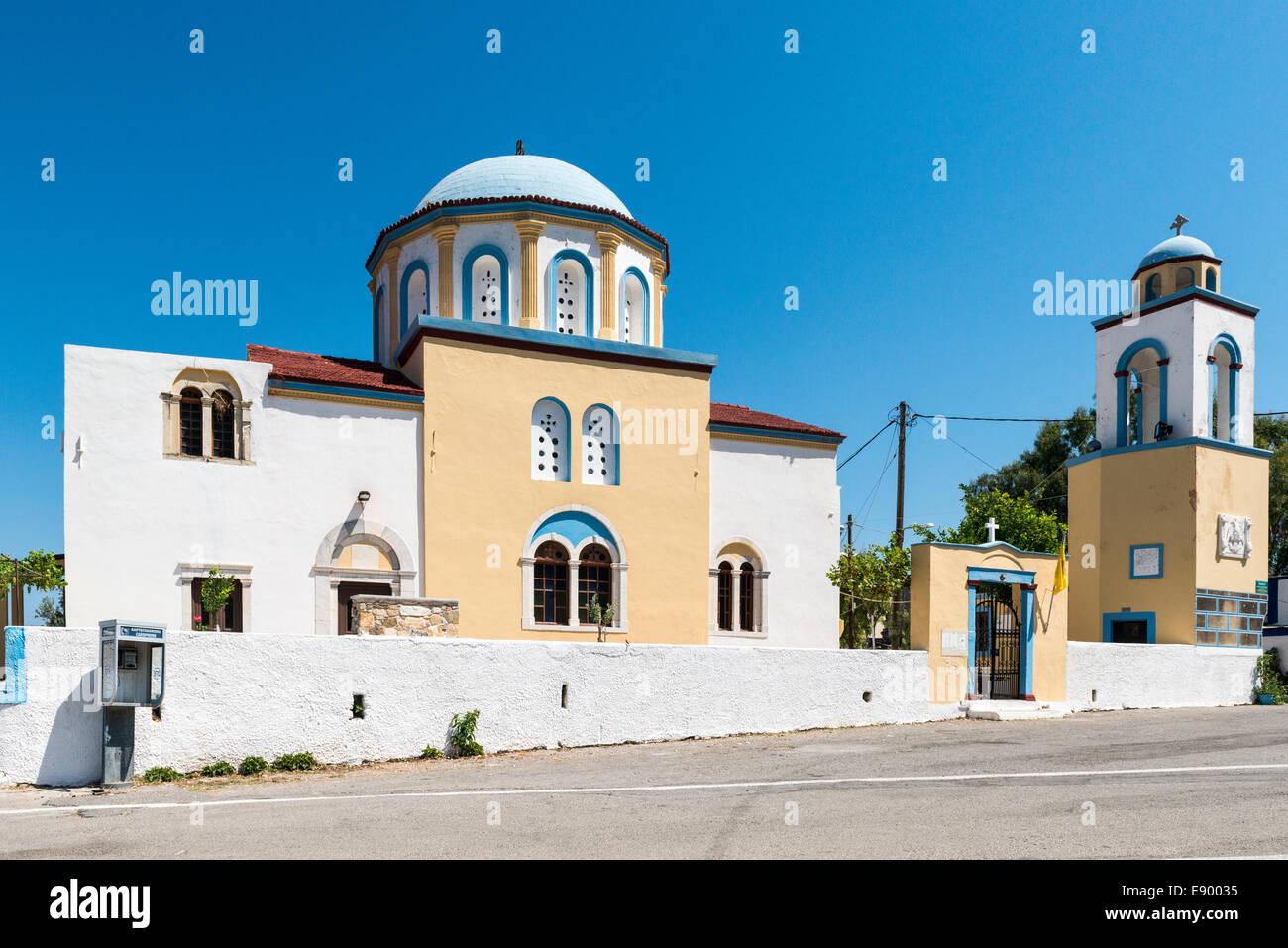 Saint Nikolaos Church in Pyli, Kos, Greece - Stock Image