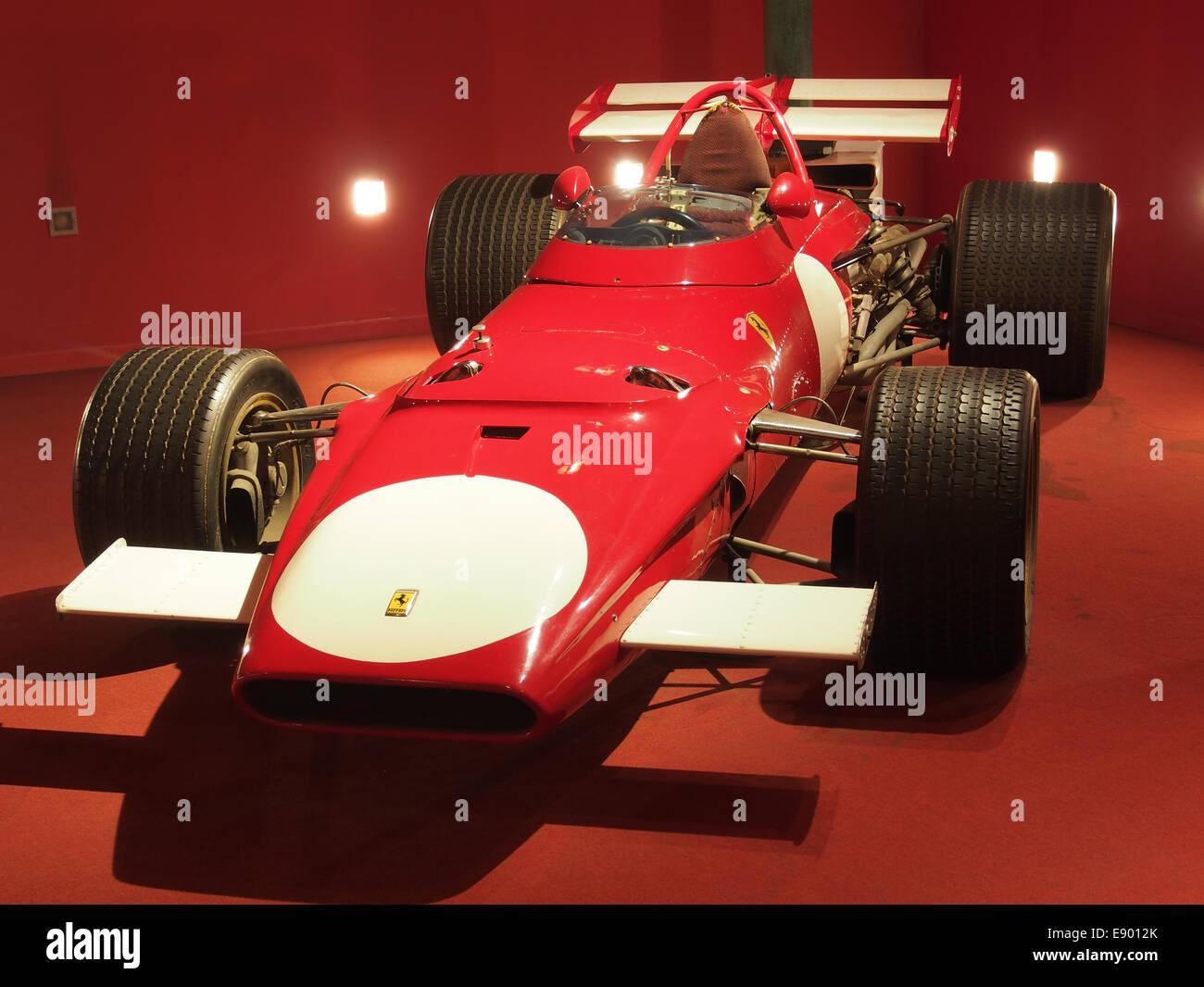 1970 Ferrari F1 312B driven by Mario Andretti, pic1 - Stock Image