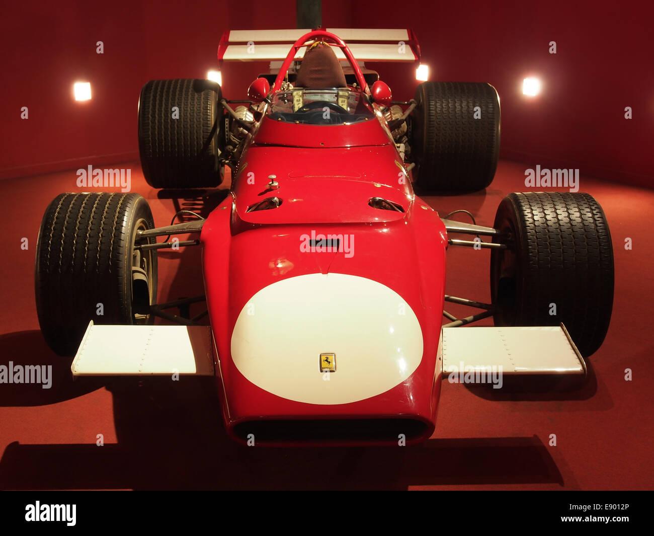 1970 Ferrari F1 312B driven by Mario Andretti, pic2 - Stock Image