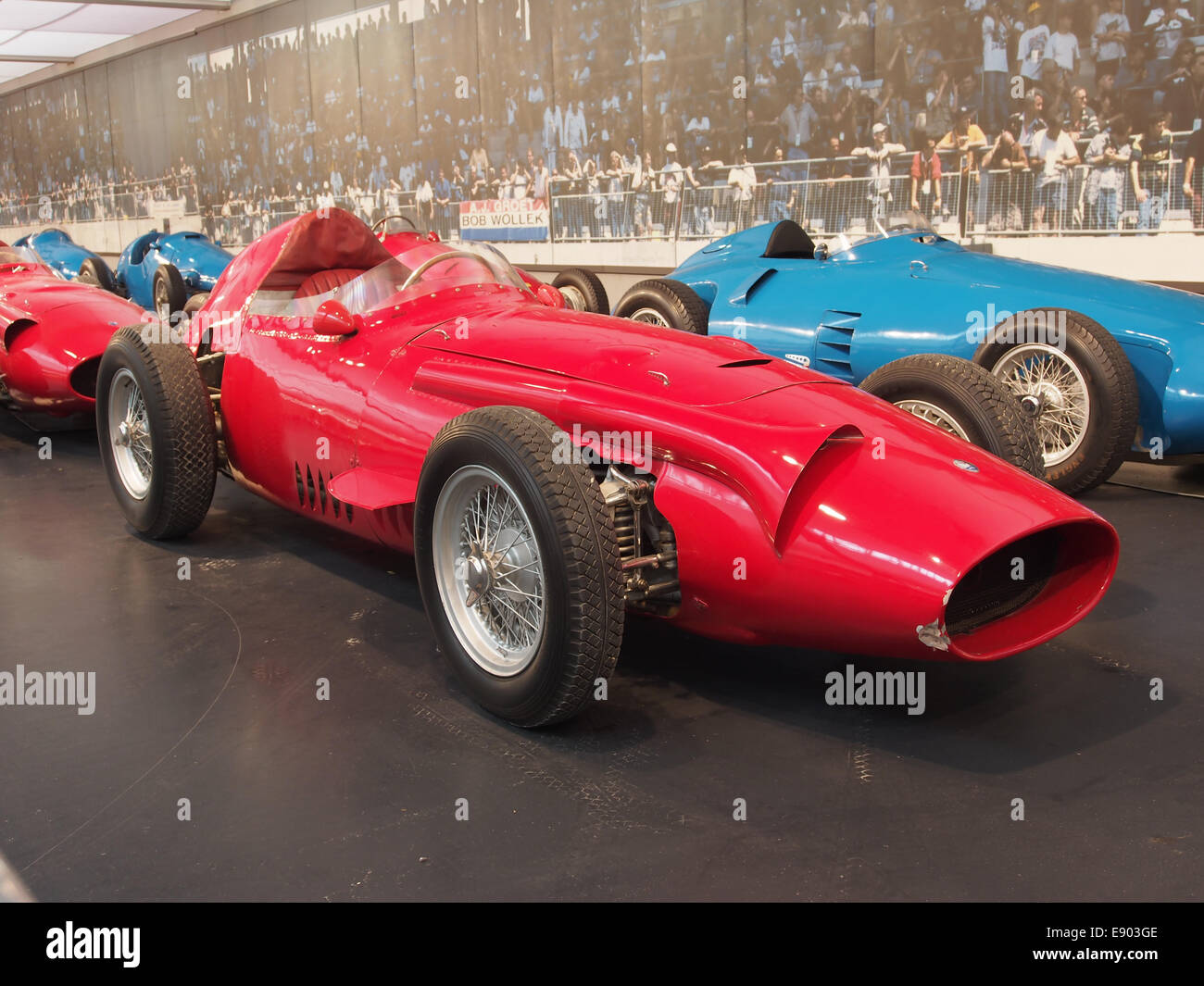 1958 Maserati GP 250, 6 cylinder, 290hp, 2494cm3, 280kmh, photo 1 - Stock Image